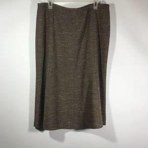 Dresses & Skirts - brown skirt Size 16